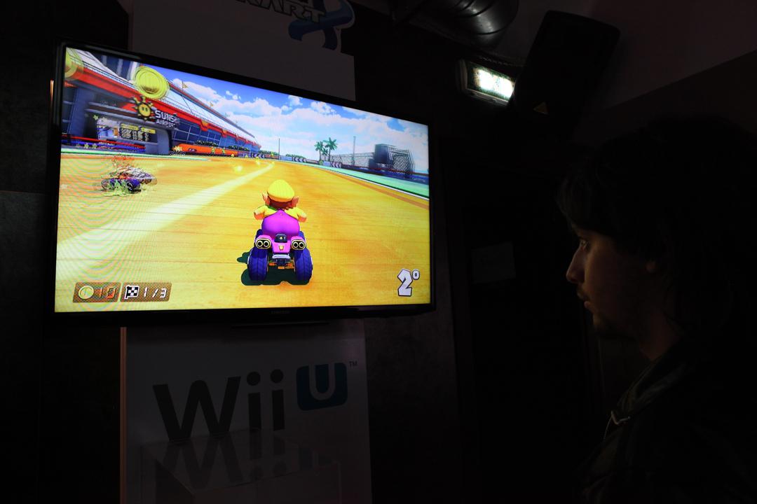 Mario Kart 8 Wario su quad