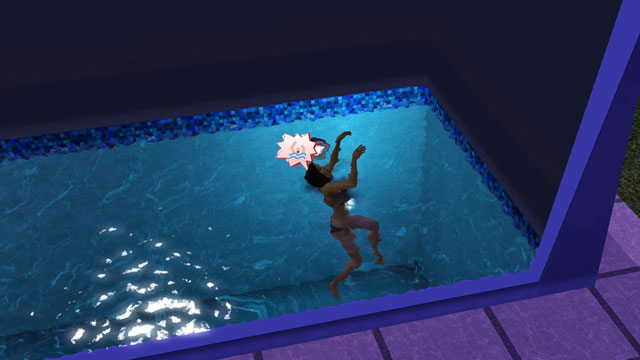 The sims 4 non si potr morire per annegamento in piscina for Piscina sims 4