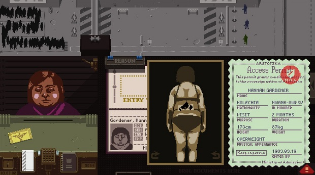 Papers, Please Game