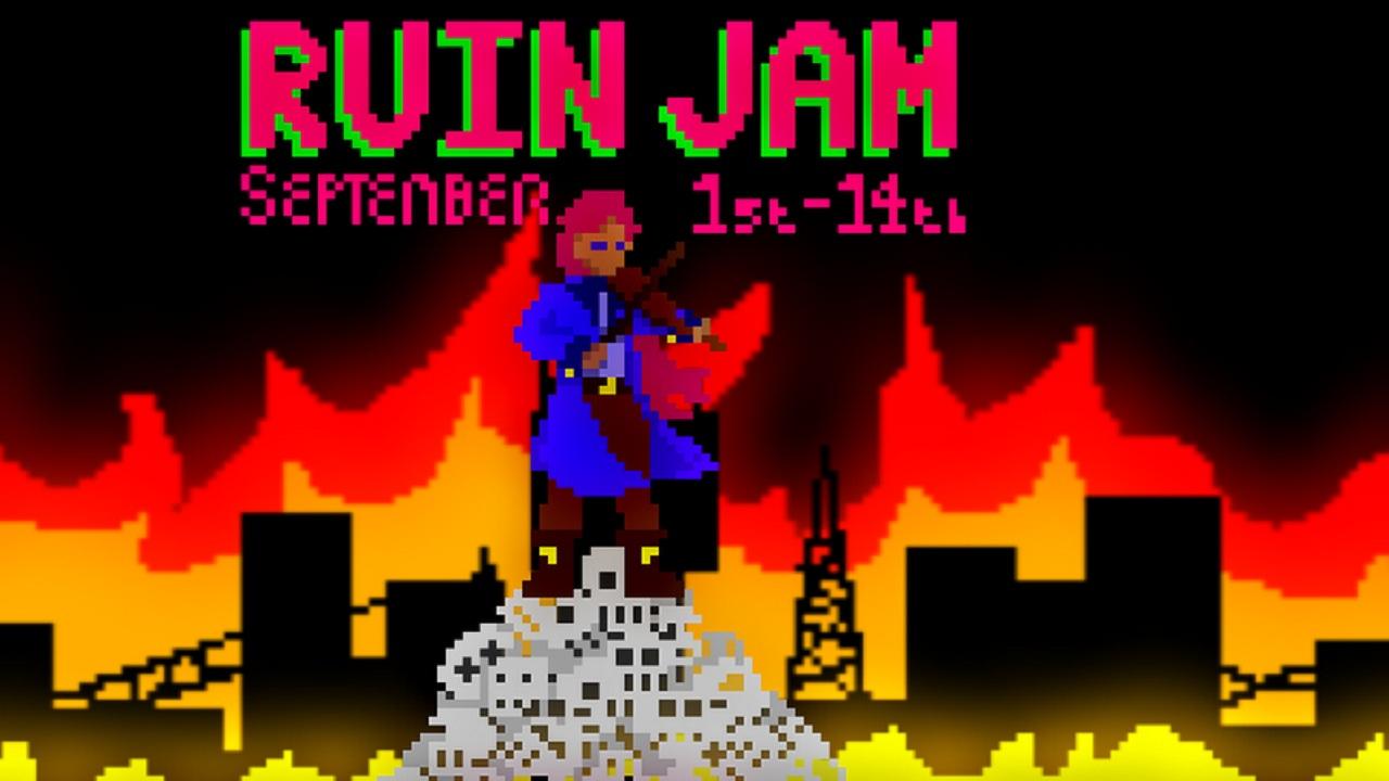 PixelFlood_GameJam_RuinJam_Games_Header