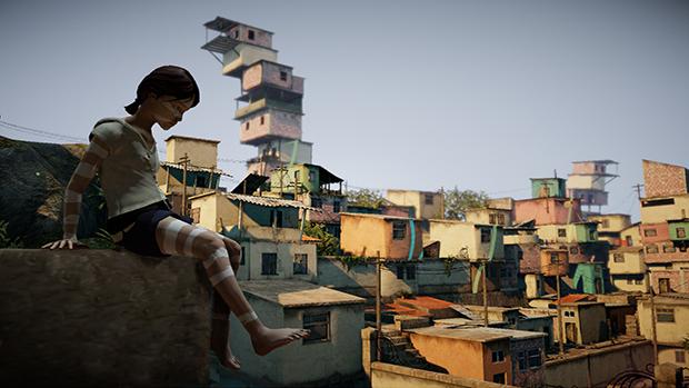 """La ragazzina """"saggia"""" che richiama Quico in questa strana favela"""