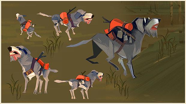 Aesop, vecchio e fedele compagno di Scout