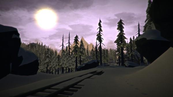 Uno scorcio della ferrovia