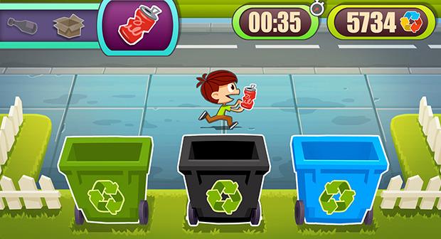 Una volta raccolti i rifiuti vanno gettati negli appositi contenitori