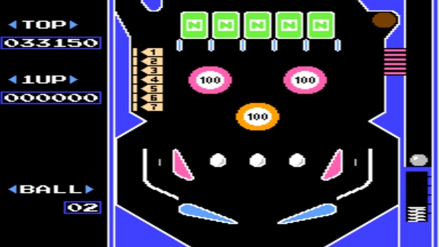 PixelFlood_Rubrica_Rubriche_IlCelacAntro_Ondama_Ondama02_Games_Pinball_Game_1983_NES_NintendoEntertainmentSystem_Nintendo_Games_Game_Flipper_Pinball2