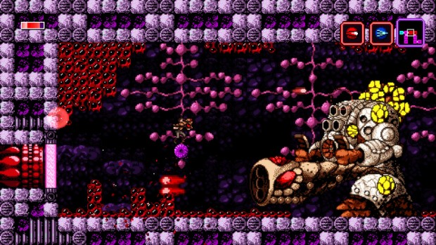 Axiom Verge pixelflood