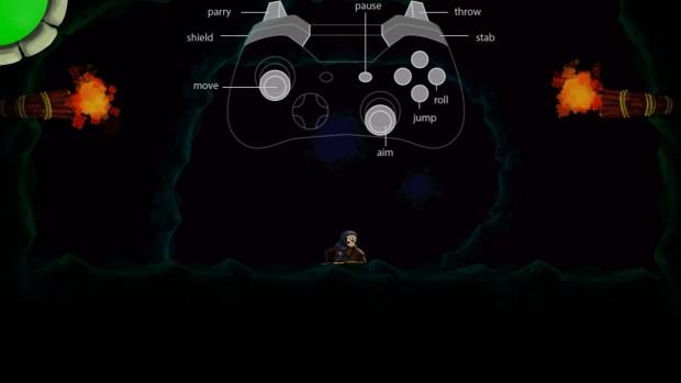 Lo schema di controllo, direttamente ispirato da Dark Souls, è inizialmente un po' macchinoso, ma ci si abitua presto.