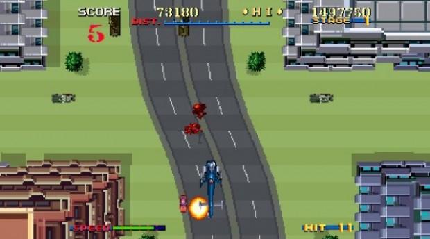 Il gioco alterna visuale dall'alto a quella posteriore.