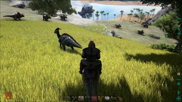 A cavallo di un raptor su una spianata verdeggiante. Cioè, dai <3