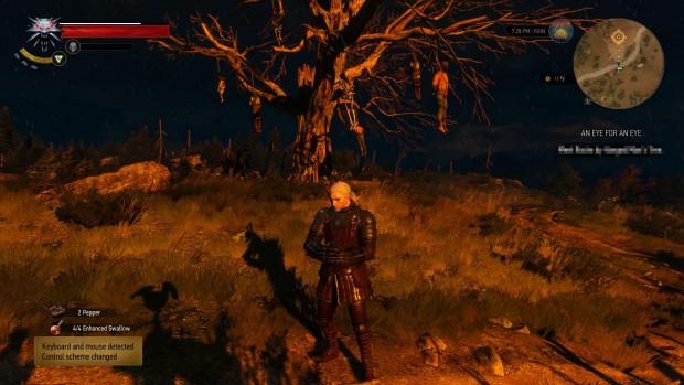 The Witcher 3 si racconta tanto a immagini quanto a parole. Zone come questa fanno capire subito che aria tira.