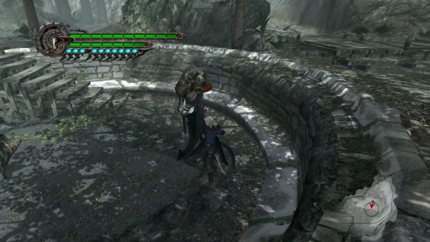 Il braccio demoniaco di Nero permette di afferrare tutti i nemici...