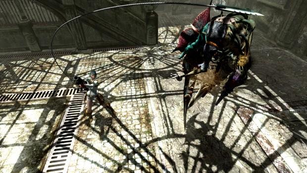 Il rampino del Kalina Ann è pensato per sbatacchiare i nemici, tenendoli a debita distanza.