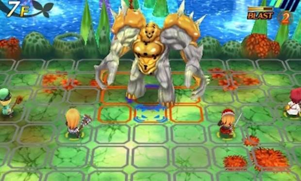 Le boss fight sono l'unico momento in cui potrete controllare tutto il gruppo, un personaggio alla volta.
