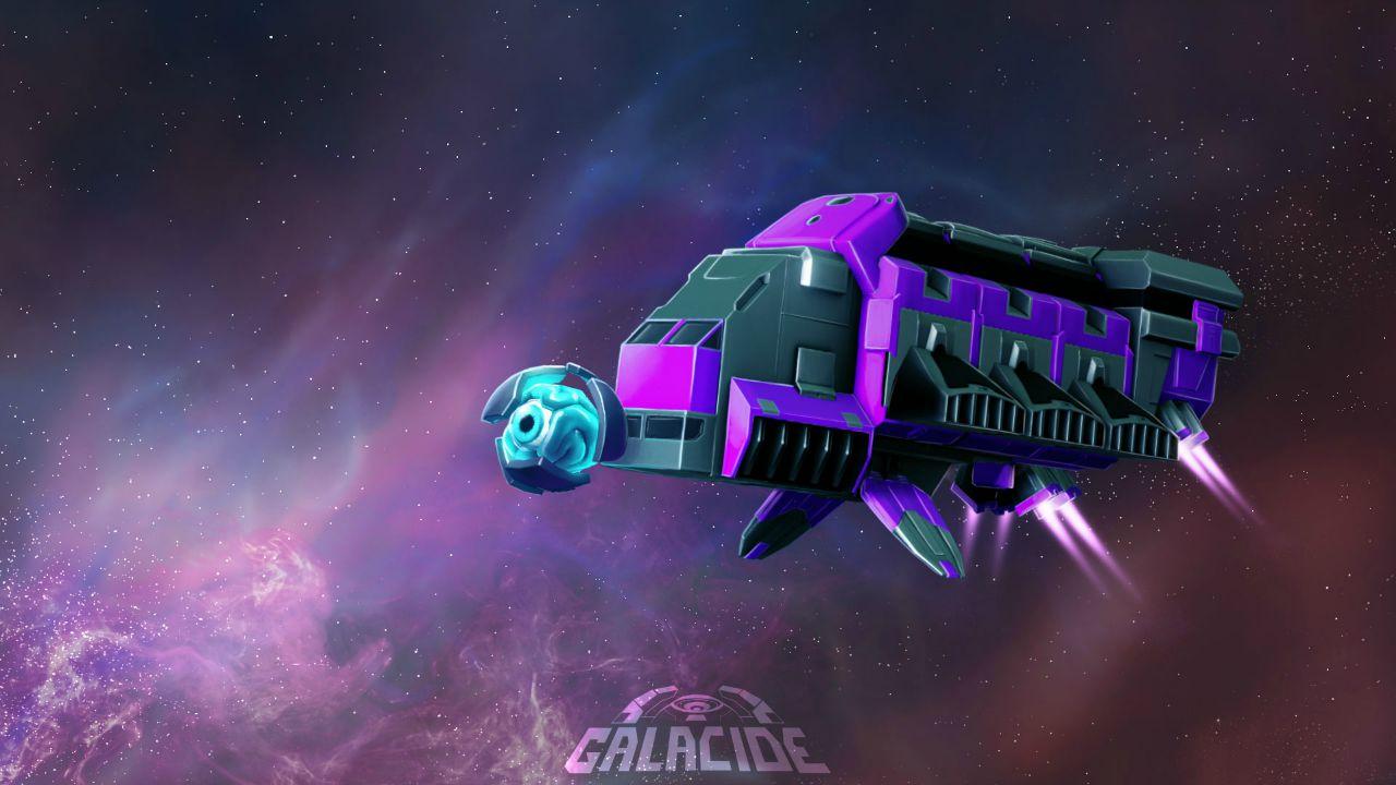 Galacide: la creatività arriva coi laser