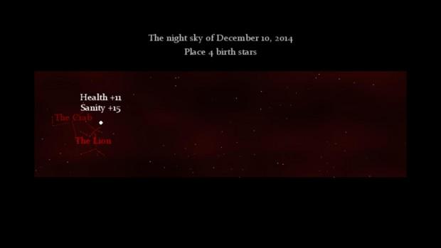 I bonus variano in base a quanto vicine sono le stelle al centro delle costellazioni, generate casualmente. Se capita un punto particolarmente buono è più che possibile impilare tutte le stelle sullo stesso pixel.