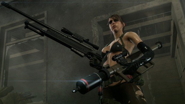 Quiet, quasi senza dire una parola è uno degli unici due personaggi con un vero arco narrativo in The Phantom Pain.