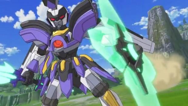 Piano americano del robottino del protagonista con una nuova armatura.