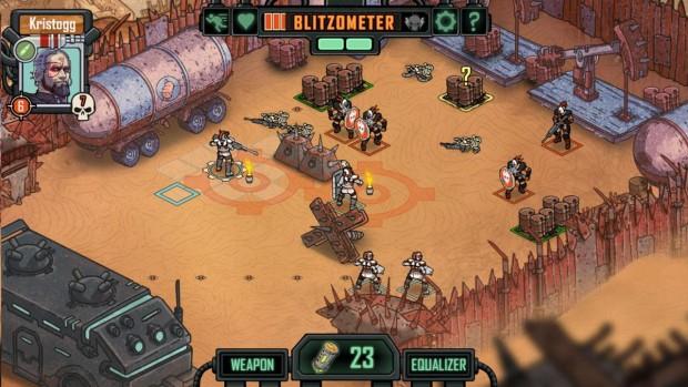 uno dei molti campi di battaglia nel gioco