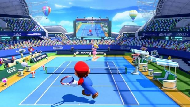 Mario si tuffa per rispondere a Peach.