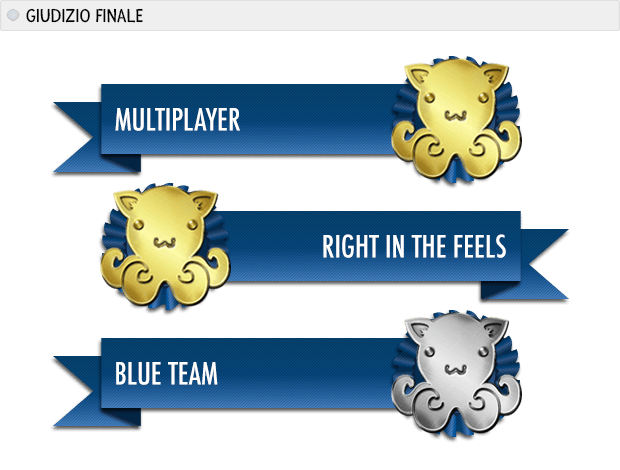 HALO 5 POLIPI: multiplayer oro, right in the feels oro, blue team argento