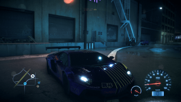 Need for Speed esterno