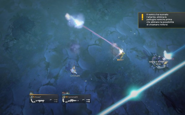Le laserate sono all'ordine del giorno in HELLDIVERS.