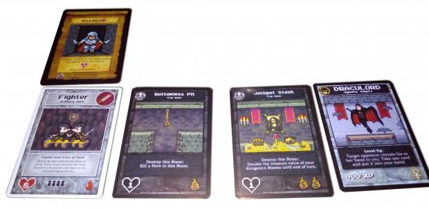 Un esempio di come può essere un dungeon. Qualcun si è divertito a potenziarmi l'eroe... come se ce ne fosse bisogno.