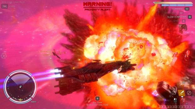 esplosioni spaziali