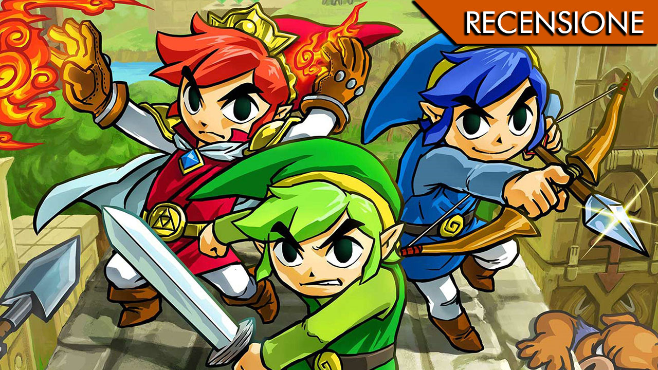 The Legend of Zelda: Tri Force Heroes – Threesome power!