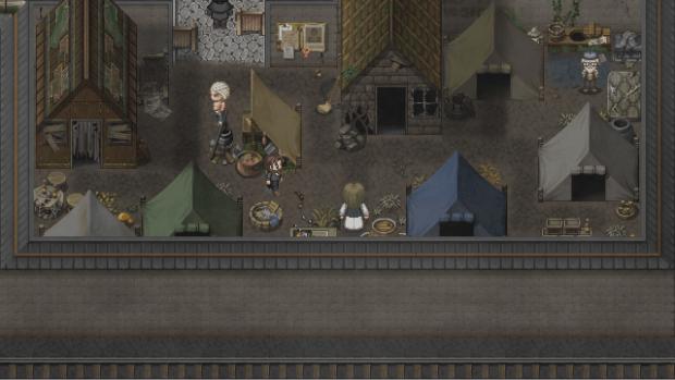Nel ghetto, l'atmosfera distopica della città è ulteriormente amplificata.