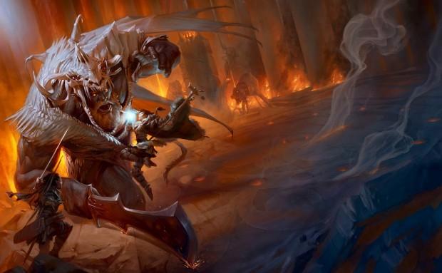 Dungeons&Dragons: Artwork dalla quinta edizione