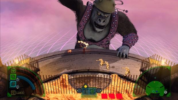 """Sconfiggere il mega-gorilla sbloccherà l'achievement """"Re della torre"""""""
