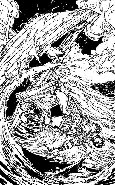 Lupo Solitario 29: Tempesta