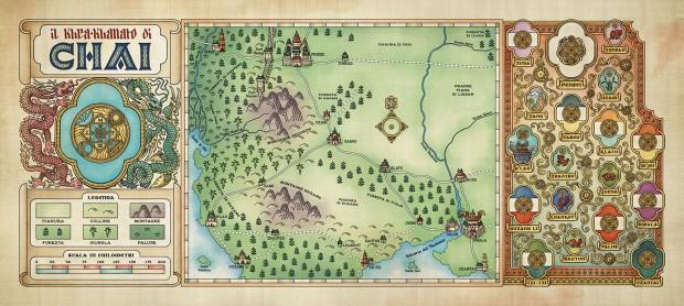 Mappa del Chai