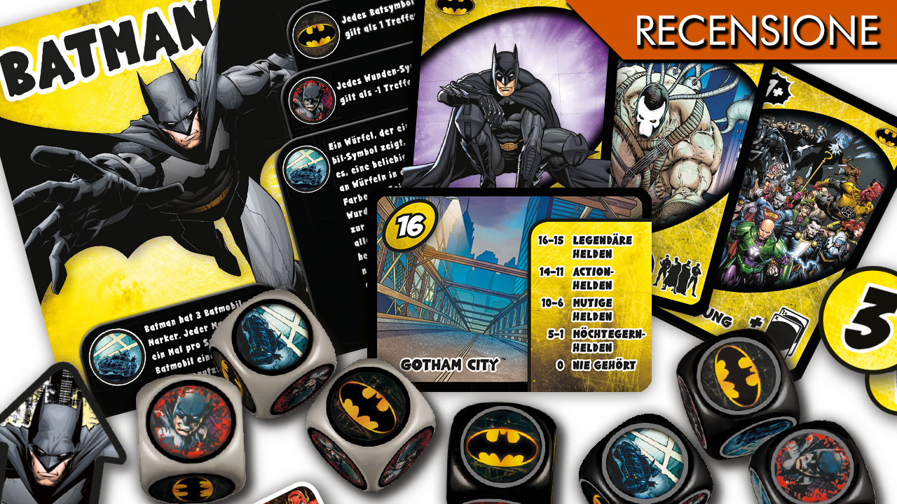 Justice League: Hero Dice – Batman + Superman!