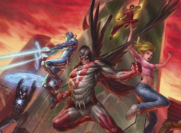 Un particolare della copertina di Mutants & Masterminds