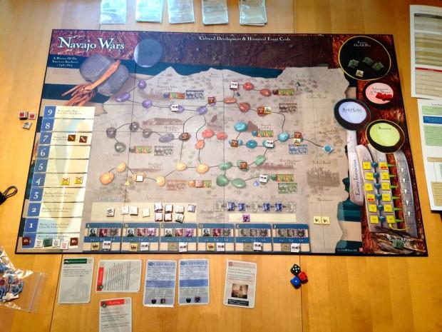 Partita a Navajo Wars (periodo spagnolo).