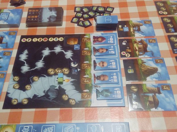 Above and Below - Il tabellone di gioco