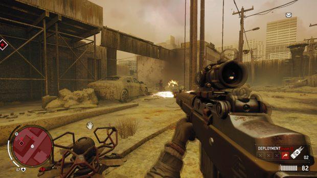 La quinta area è stata ricoperta di veleno ed è inabitabile. Ad una prima occhiata sembra un nuovo elemento di gameplay, ma appena messa la maschera antigas è tutto come al solito.