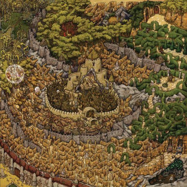 Labyrinth - Il tabellone di gioco