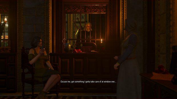 Geralt affronta il più terribile dei nemici: la burocrazia. Aaaahh!!