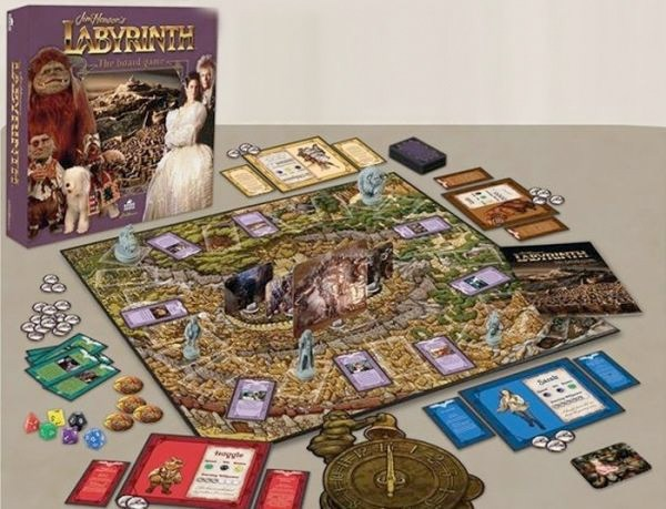 Labyrinth - I materiali di gioco
