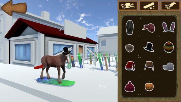 Cambio cappello al cavallo... e niente, ok.