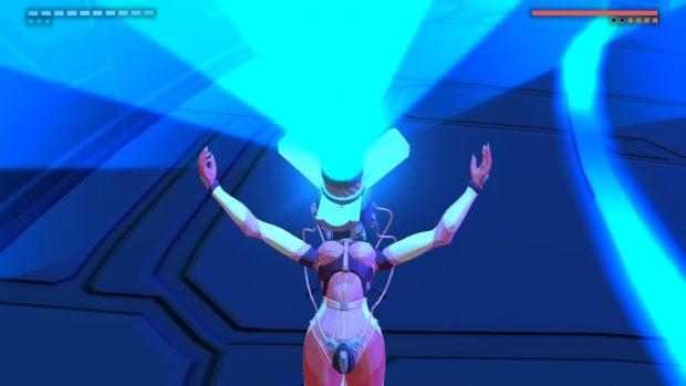 Laser gigante al posto della faccia e completamente pazza? Benvenuta nel cast di Furi.