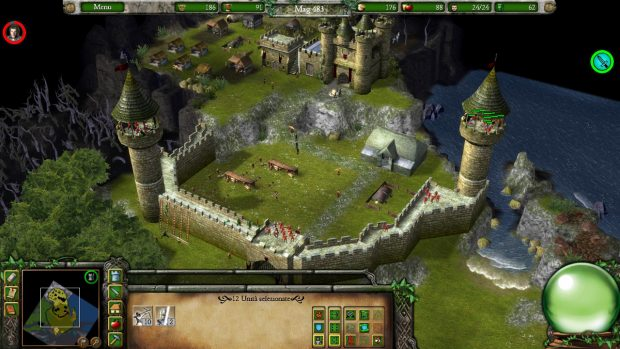 Lancillotto respinge l'assedio al castello con l'aiuto di valorosi arcieri