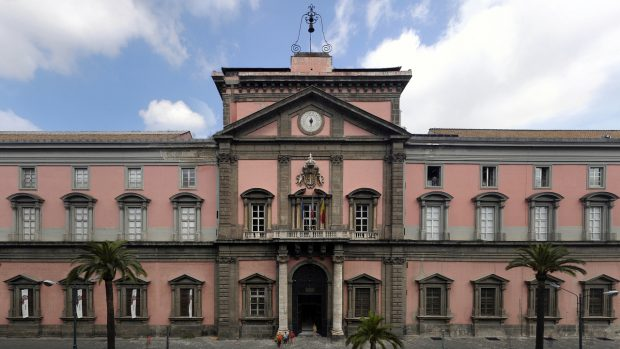 Lo splendido Museo Archeologico Nazionale di Napoli, inatteso produttore del gioco.