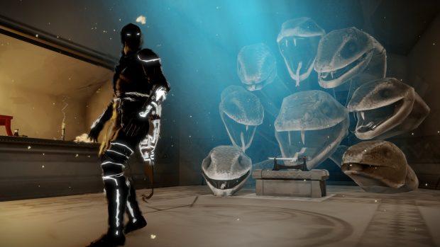 A metà tra fantasma e ninja c'è l'Aragami.