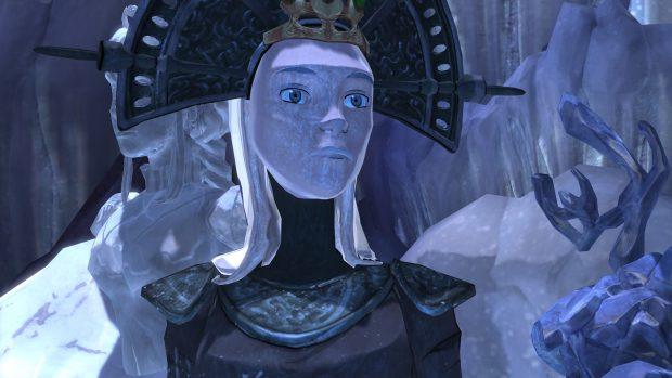 Vista l'ambientazione, non poteva mancare un cameo della Regina Icebella.