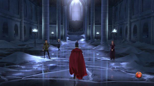 Il palazzo di ghiaccio sarebbe impressionante, se ci lasciassero vedere stanze come questa più di due volte in totale.