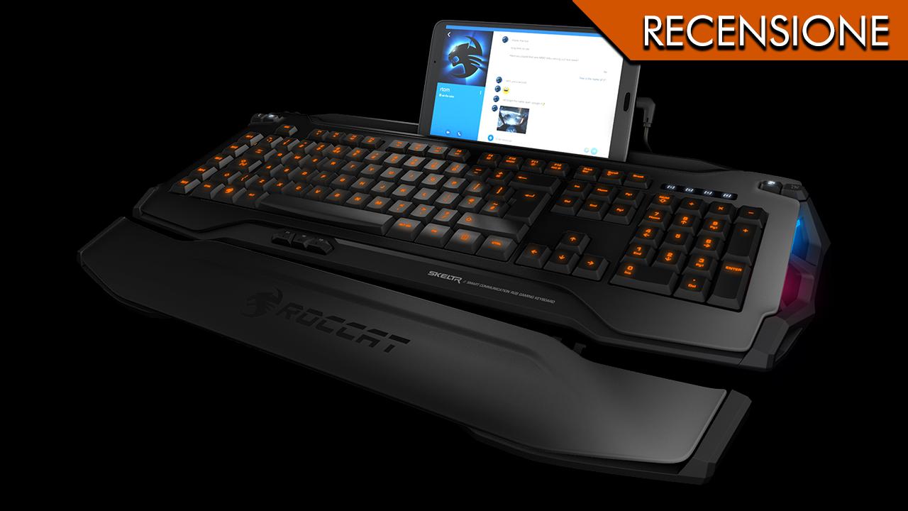 Roccat Skeltr – Telefono chiama, tastiera risponde